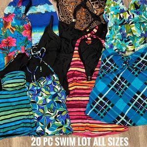 20 pc swimsuit tankini lot ALL SIZES